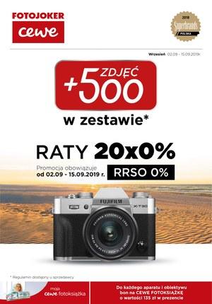 Gazetka promocyjna Fotojoker, ważna od 02.09.2019 do 15.09.2019.