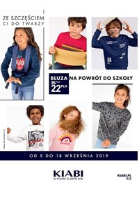 Gazetka promocyjna Kiabi - Powrót do szkoły - ważna do 18-09-2019
