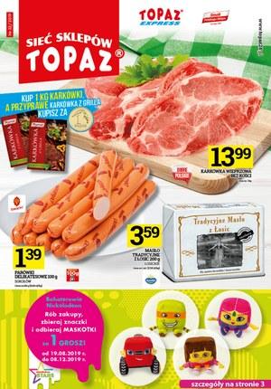 Gazetka promocyjna Topaz, ważna od 12.09.2019 do 18.09.2019.