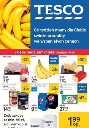 Gazetka promocyjna Tesco Centra Handlowe, ważna od 12.09.2019 do 18.09.2019.
