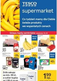 Gazetka promocyjna Tesco Supermarket - Gazetka promocyjna  - ważna do 18-09-2019