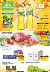 Gazetka promocyjna Stokrotka Supermarket, ważna od 12.09.2019 do 18.09.2019.