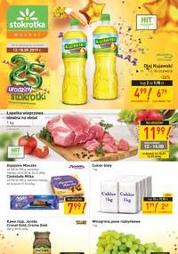 Gazetka promocyjna Stokrotka Market, ważna od 12.09.2019 do 18.09.2019.