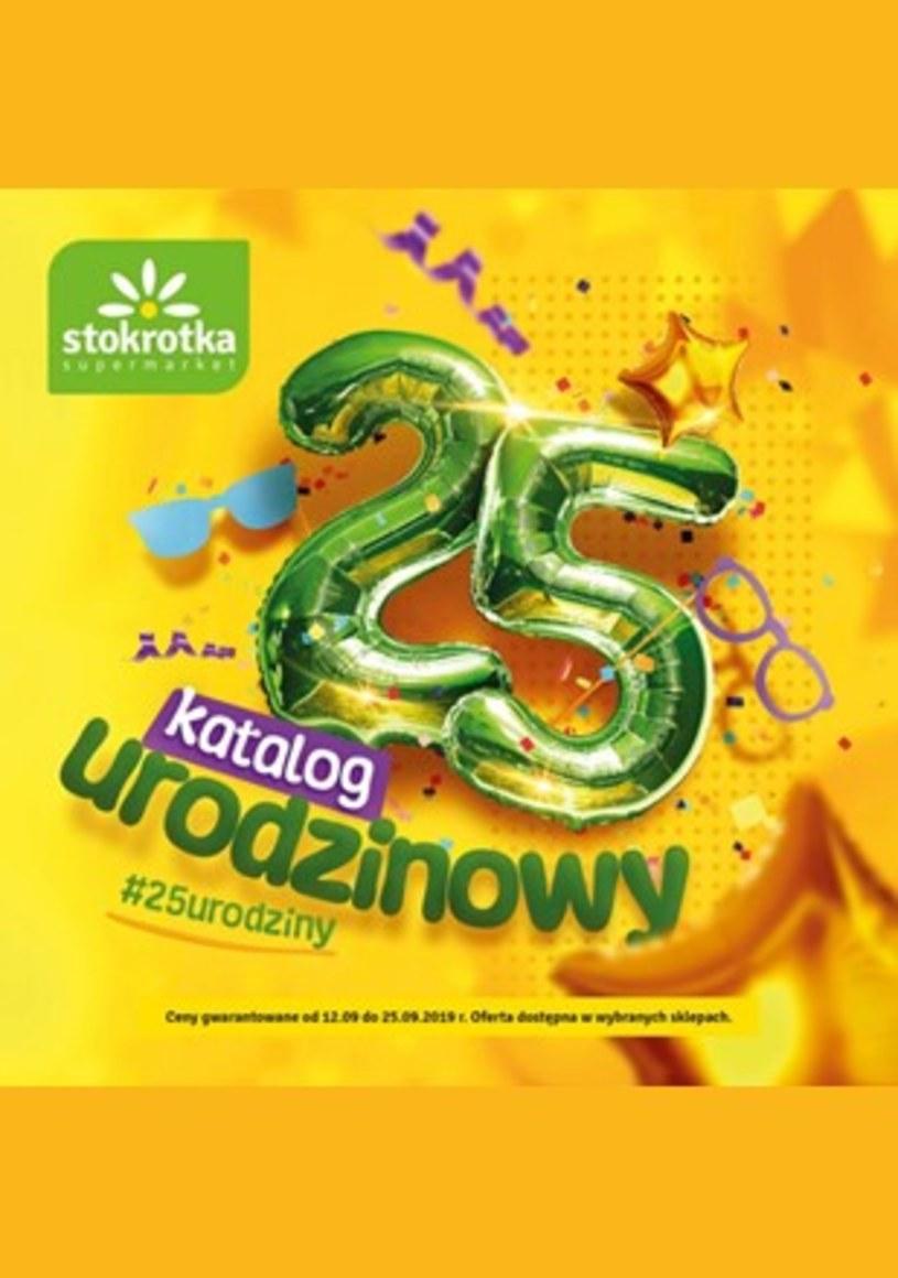 Gazetka promocyjna Stokrotka Supermarket - ważna od 12. 09. 2019 do 25. 09. 2019