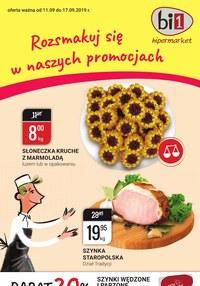 Gazetka promocyjna bi1, ważna od 11.09.2019 do 17.09.2019.