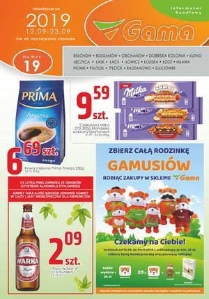 Gazetka promocyjna Gama, ważna od 12.09.2019 do 23.09.2019.