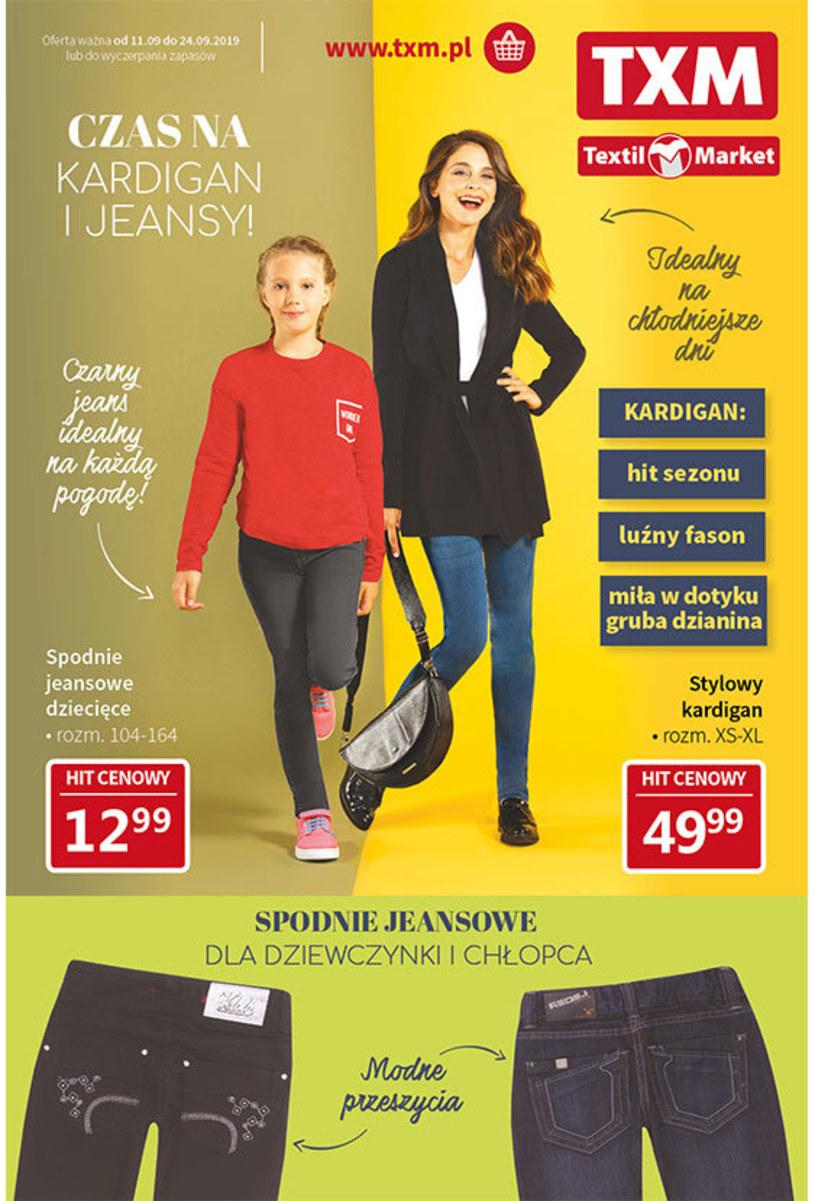 Gazetka promocyjna Textil Market - ważna od 11. 09. 2019 do 24. 09. 2019
