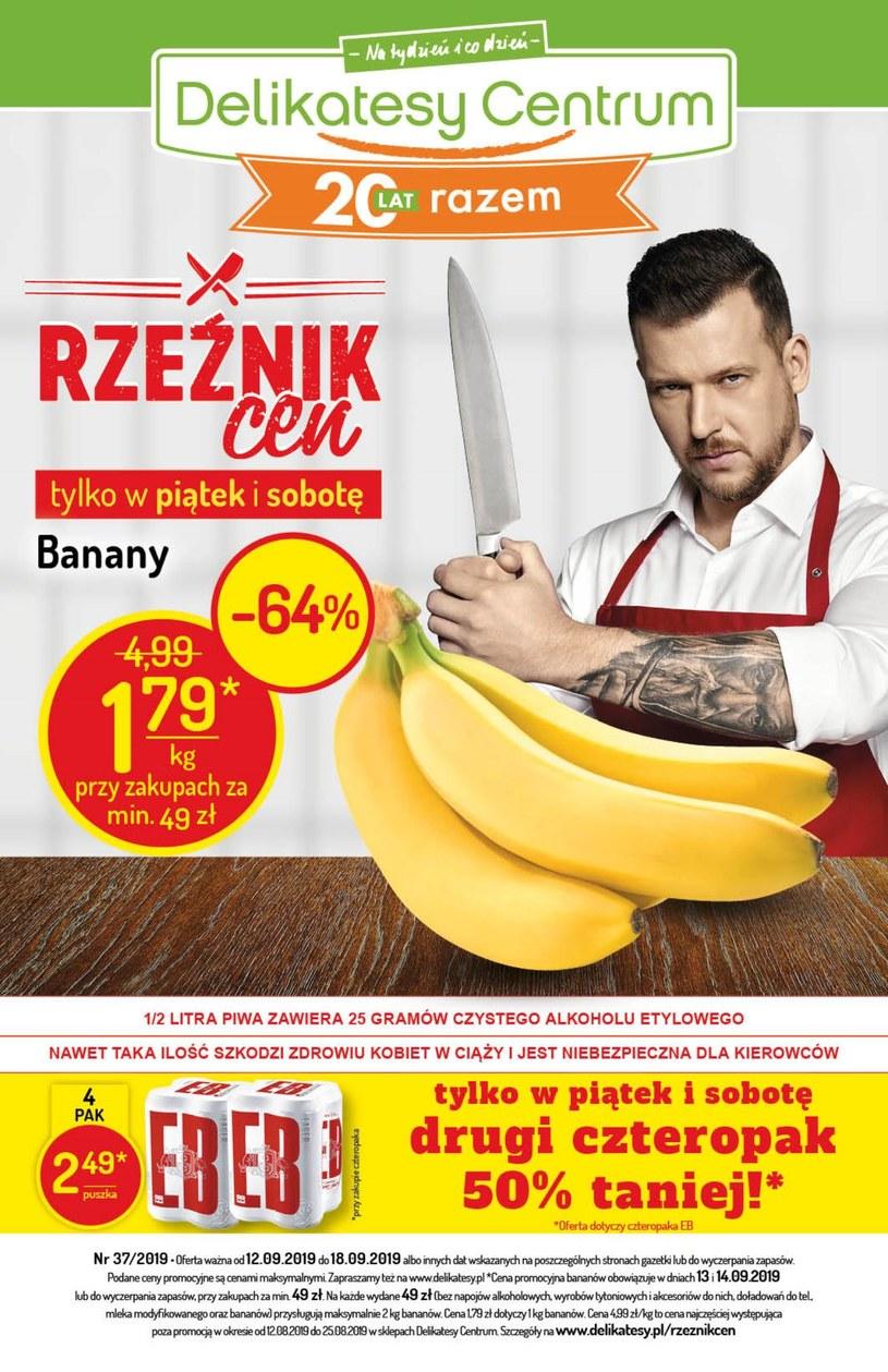 Gazetka promocyjna Delikatesy Centrum - wygasła 4 dni temu