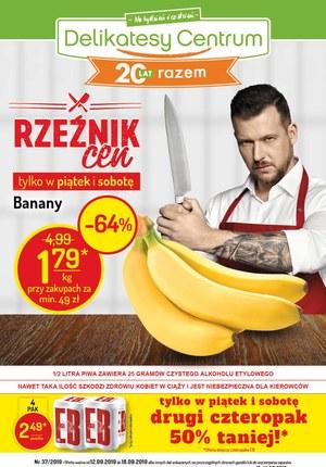 Gazetka promocyjna Delikatesy Centrum, ważna od 12.09.2019 do 18.09.2019.