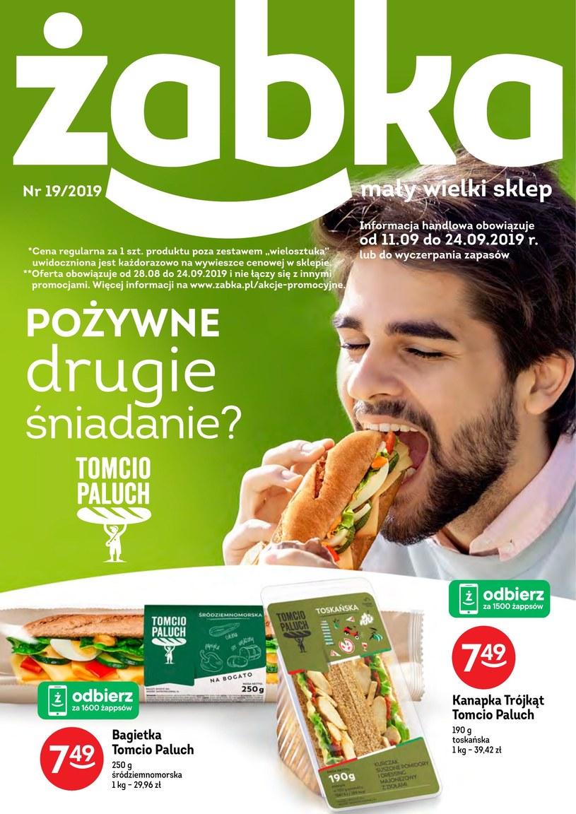Gazetka promocyjna Żabka - ważna od 11. 09. 2019 do 24. 09. 2019