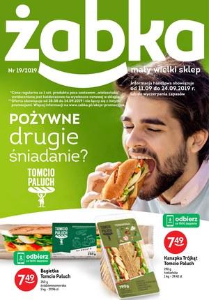 Gazetka promocyjna Żabka, ważna od 11.09.2019 do 24.09.2019.