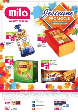 Gazetka promocyjna MILA, ważna od 12.09.2019 do 25.09.2019.