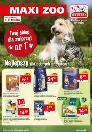Gazetka promocyjna Maxi Zoo, ważna od 11.09.2019 do 17.09.2019.