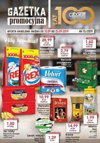 Gazetka promocyjna PSS Bochnia, ważna od 12.09.2019 do 25.09.2019.