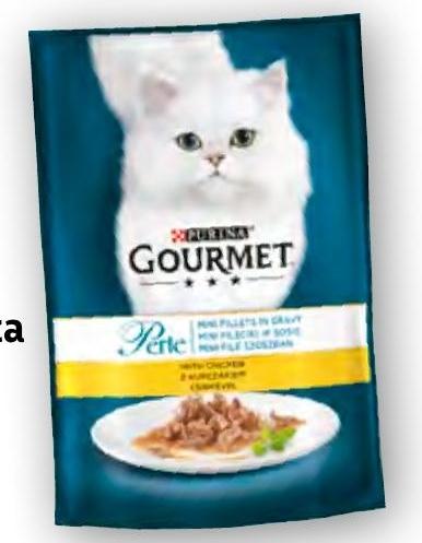 Karma dla kota Gourmet niska cena