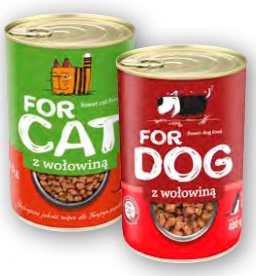 Karma For Cat/For Dog niska cena