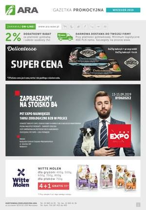 Gazetka promocyjna Ara, ważna od 01.09.2019 do 30.09.2019.