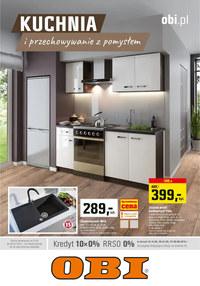 Gazetka promocyjna OBI - Kuchnia i przechowywanie