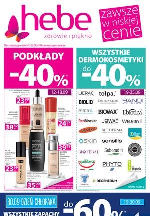 Gazetka promocyjna Hebe, ważna od 12.09.2019 do 25.09.2019.