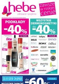 Gazetka promocyjna Hebe - Zawsze w niskiej cenie - ważna do 25-09-2019