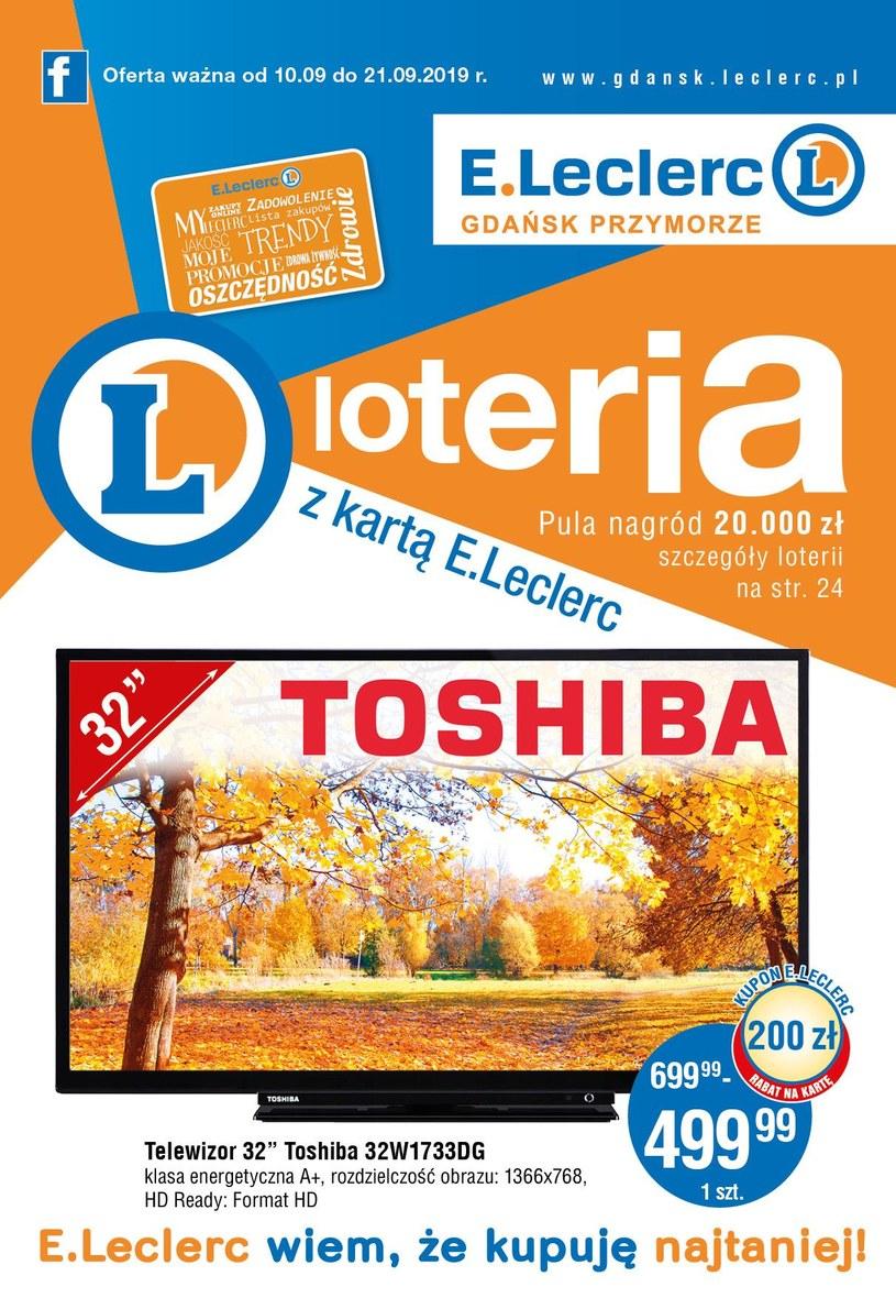 E.Leclerc: 6 gazetki