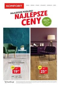 Gazetka promocyjna Komfort - Najlepsze podłogi, najlepsze ceny - ważna do 25-10-2019