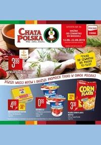 Gazetka promocyjna Chata Polska, ważna od 12.09.2019 do 22.09.2019.