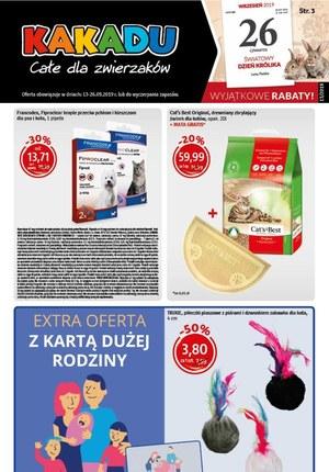 Gazetka promocyjna Kakadu, ważna od 13.09.2019 do 26.09.2019.