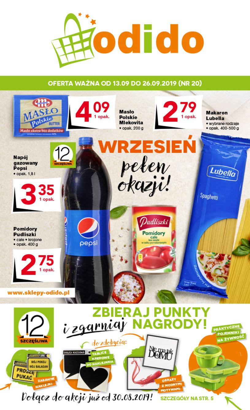 Gazetka promocyjna Odido - ważna od 13. 09. 2019 do 26. 09. 2019