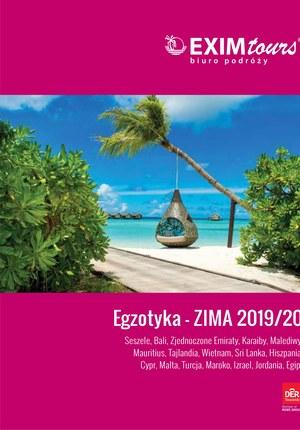 Gazetka promocyjna EXIM Tours, ważna od 01.12.2019 do 29.02.2020.