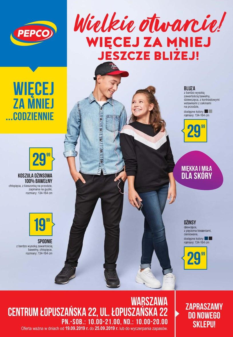 Gazetka promocyjna Pepco - ważna od 19. 09. 2019 do 25. 09. 2019