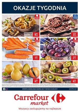 Gazetka promocyjna Carrefour Market, ważna od 17.09.2019 do 23.09.2019.
