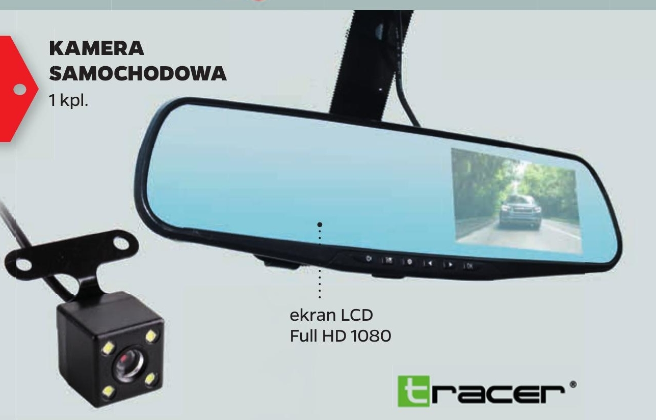 Kamera samochodowa Tracer niska cena