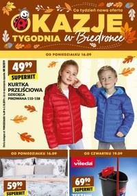 Gazetka promocyjna Biedronka, ważna od 16.09.2019 do 02.10.2019.
