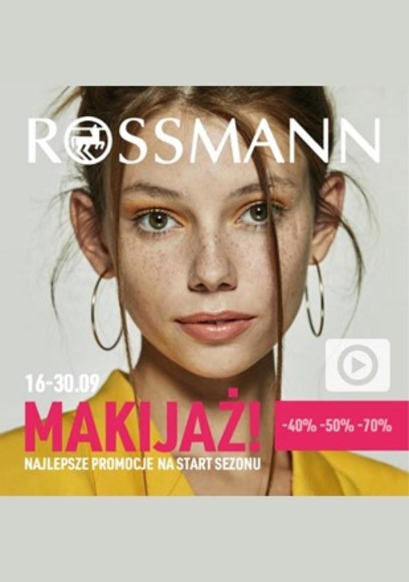 Gazetka promocyjna Rossmann - ważna od 16. 09. 2019 do 30. 09. 2019