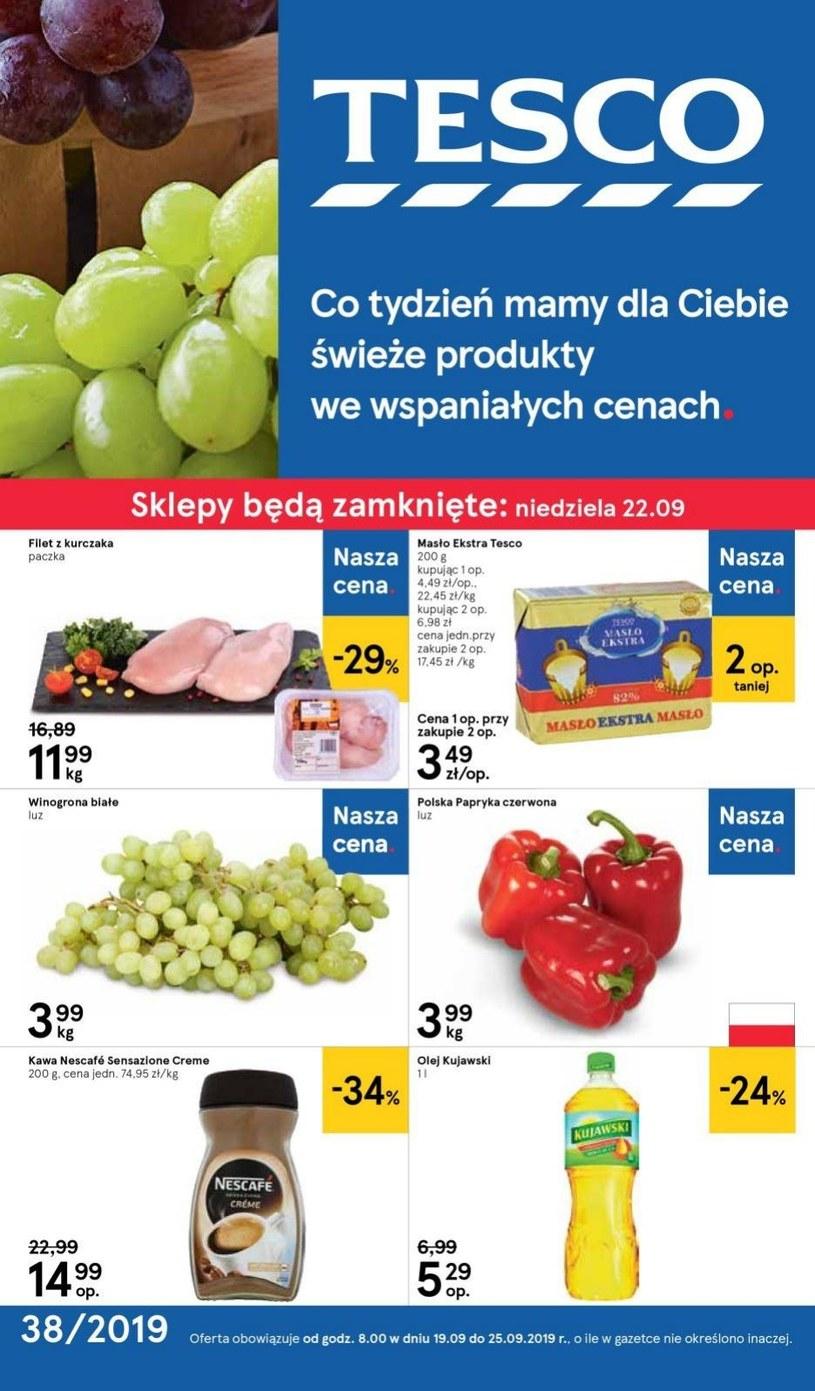 Gazetka promocyjna Tesco Centra Handlowe - ważna od 19. 09. 2019 do 25. 09. 2019