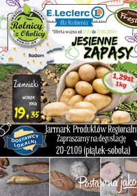 Gazetka promocyjna E.Leclerc, ważna od 17.09.2019 do 21.09.2019.