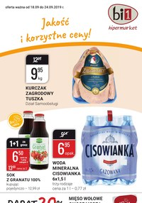 Gazetka promocyjna bi1, ważna od 18.09.2019 do 24.09.2019.