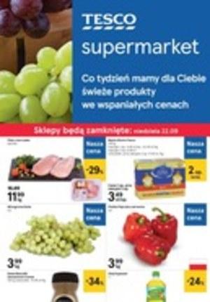 Gazetka promocyjna Tesco Supermarket, ważna od 19.09.2019 do 25.09.2019.