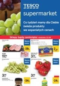 Gazetka promocyjna Tesco Supermarket - Gazetka promocyjna - ważna do 25-09-2019