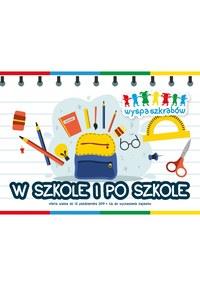 Gazetka promocyjna Wyspa szkrabów - W szkole i po szkole - ważna do 12-10-2019