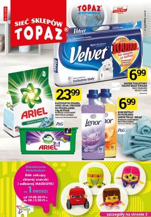 Gazetka promocyjna Topaz, ważna od 19.09.2019 do 25.09.2019.