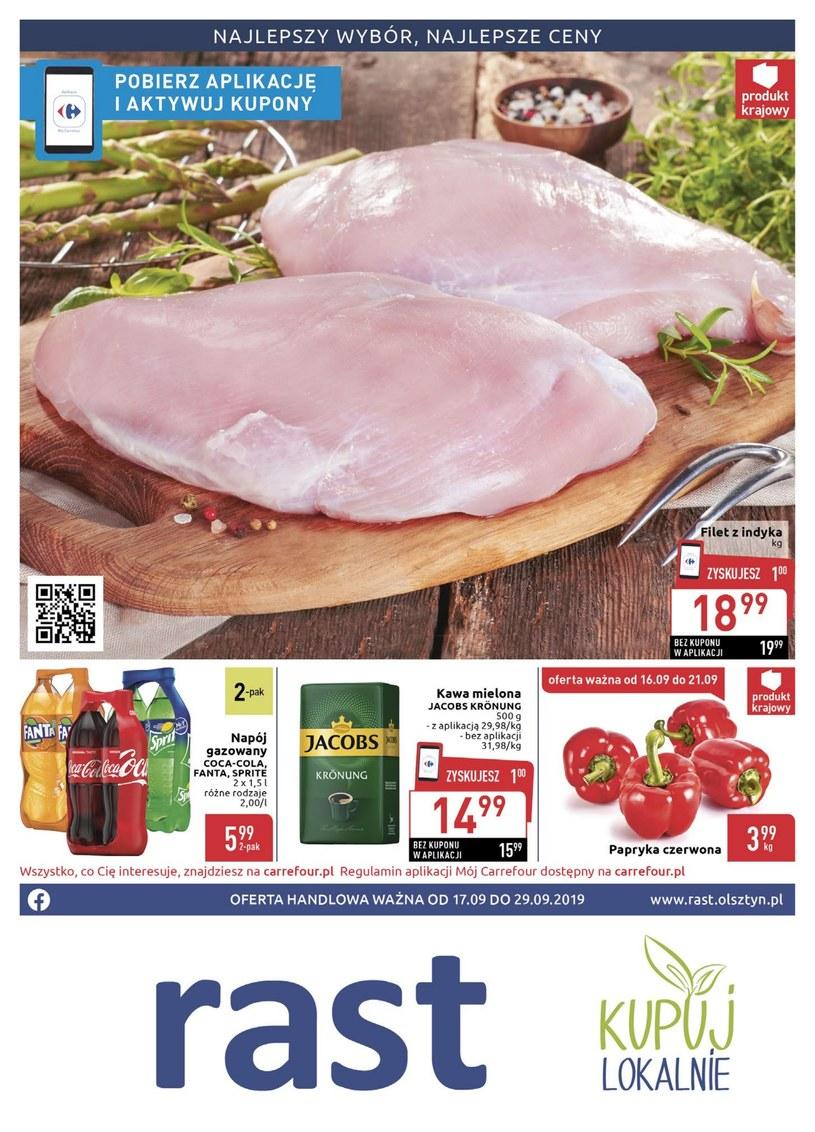 Gazetka promocyjna Rast - ważna od 17. 09. 2019 do 29. 09. 2019