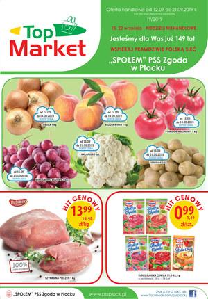 Gazetka promocyjna Top Market, ważna od 12.09.2019 do 21.09.2019.