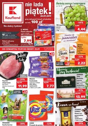 Gazetka promocyjna Kaufland, ważna od 19.09.2019 do 24.09.2019.