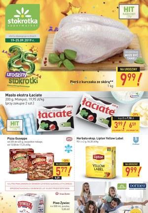 Gazetka promocyjna Stokrotka Supermarket, ważna od 19.09.2019 do 25.09.2019.