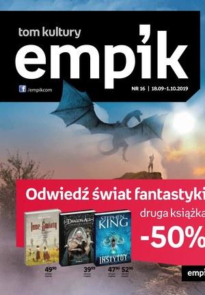 Gazetka promocyjna EMPiK, ważna od 18.09.2019 do 01.10.2019.