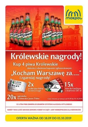 Gazetka promocyjna Mokpol, ważna od 18.09.2019 do 01.10.2019.