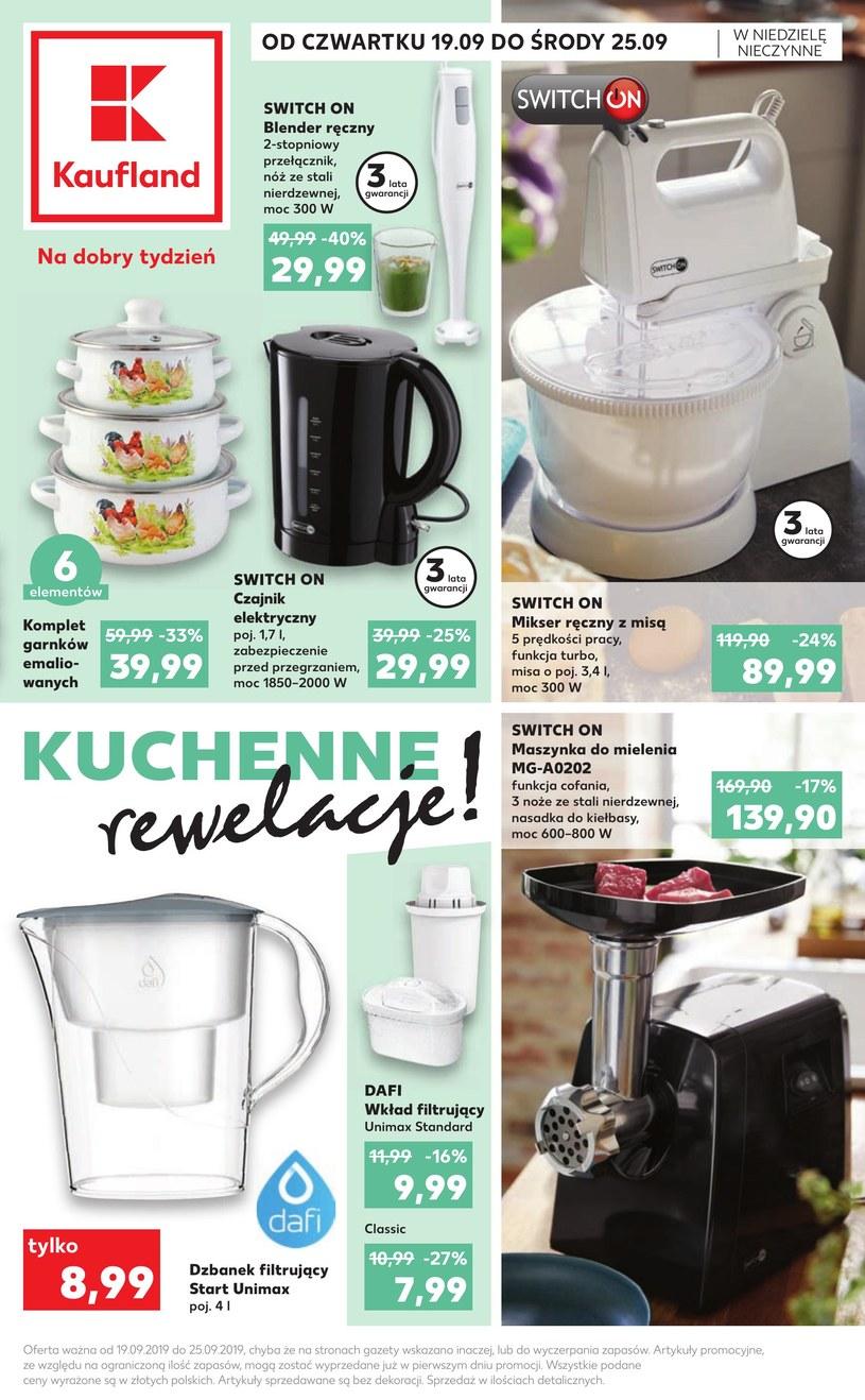 Gazetka promocyjna Kaufland - ważna od 19. 09. 2019 do 25. 09. 2019
