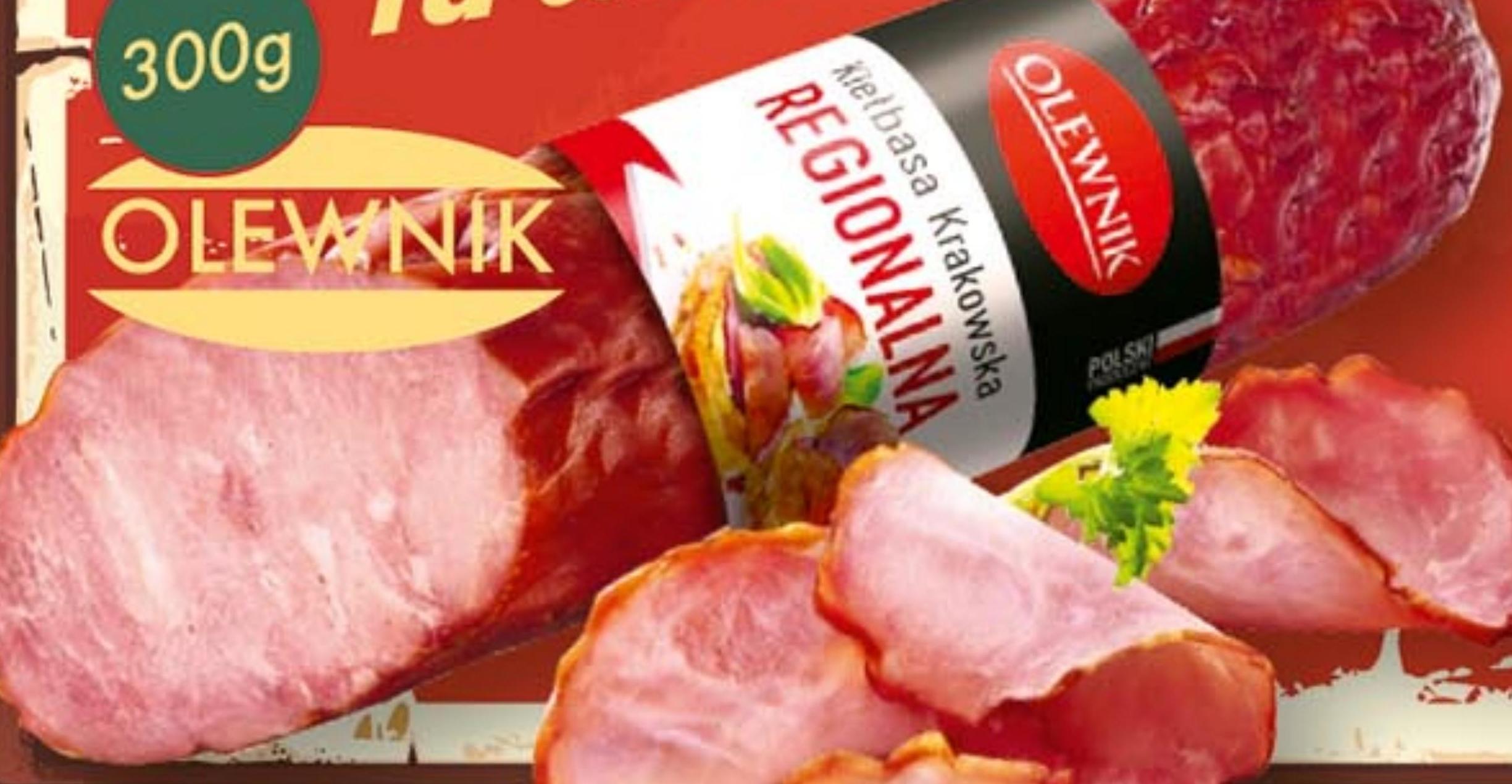 Kiełbasa krakowska Olewnik niska cena